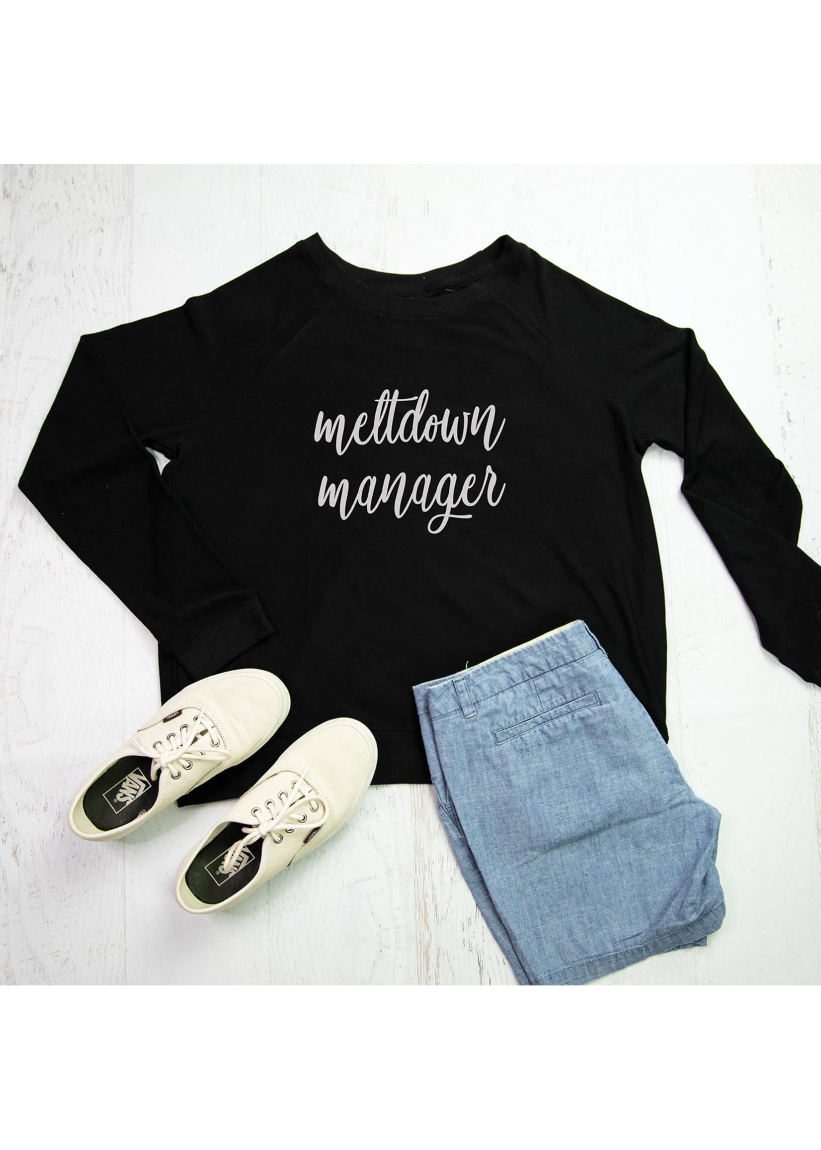 Mary Square Sweatshirt Meltdown Manager