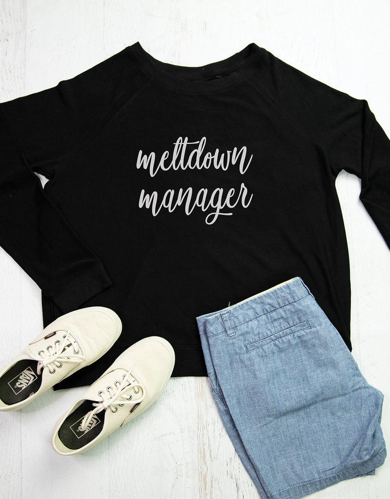 Sweatshirt Meltdown Manager
