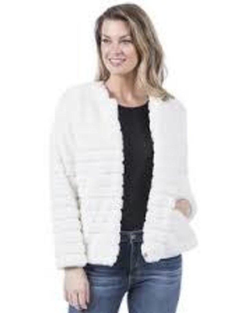 Faux Rabbit Fur Jacket