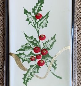 Holiday Handmade Flat Candle