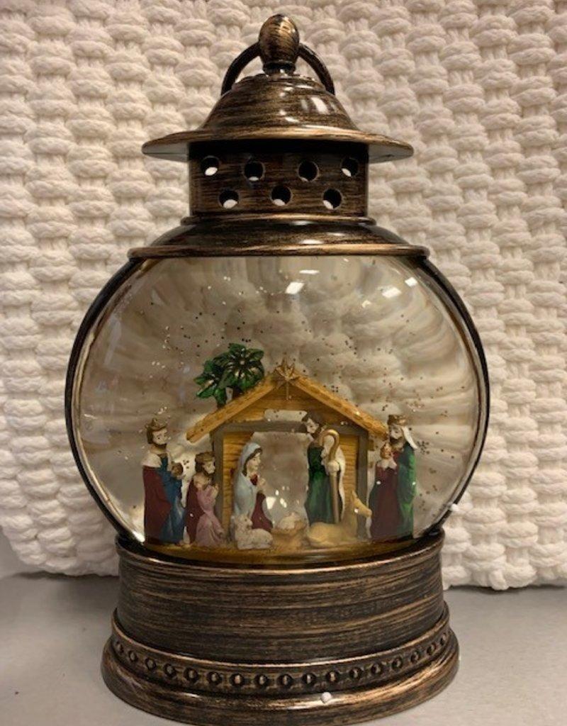 Fishbowl Lantern, Nativity