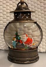 Fishbowl Lantern, Santa & Kid