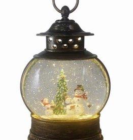 Fishbowl Lantern, Snowman