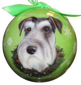 Cropped Schnauzer Ornament