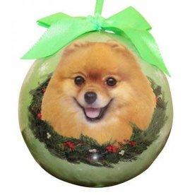 Pomeranian Ornament