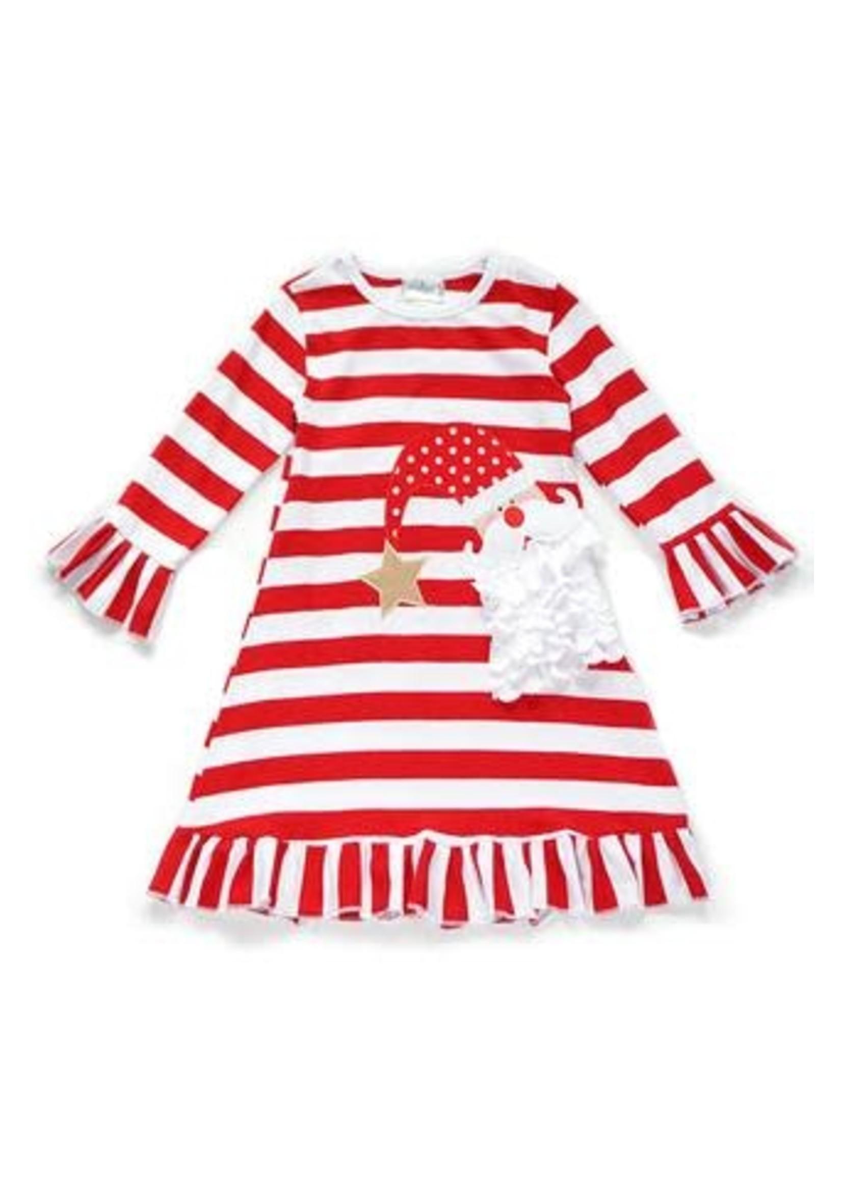 Christmas Santa Stripe Dress