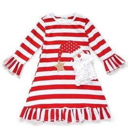 Christmas Santa Stripe Dress