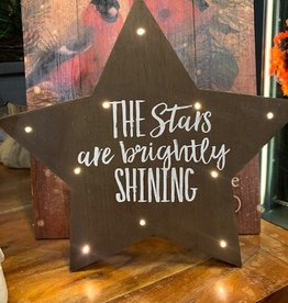 Tabletop Lighted Star Decor