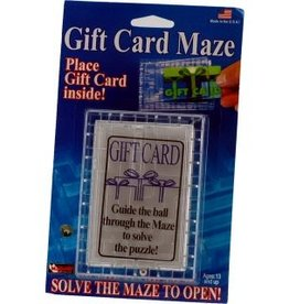 The Solve It Gift Card Maze