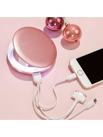 Glam Shell Charging Mirror