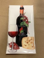 Mary Lake Thompson Red Wine Holiday Bagged Towel
