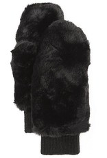 Faux Fur Mittens with Shepherd Lining