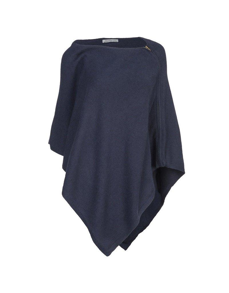 Zip Shoulder Poncho