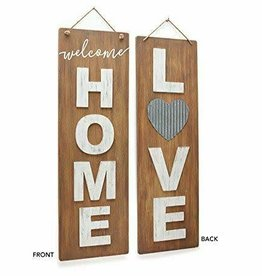 Wall Hanging Reversible Love/Welcome