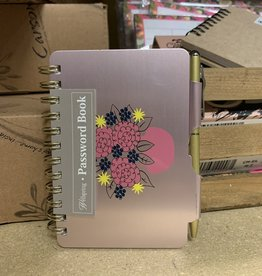Password Book - Hydrangea