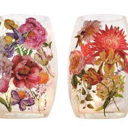 English Garden Pre-Lit Small Vase, Asst