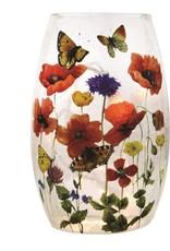 Flower Garden Pre-Lit Small Vase