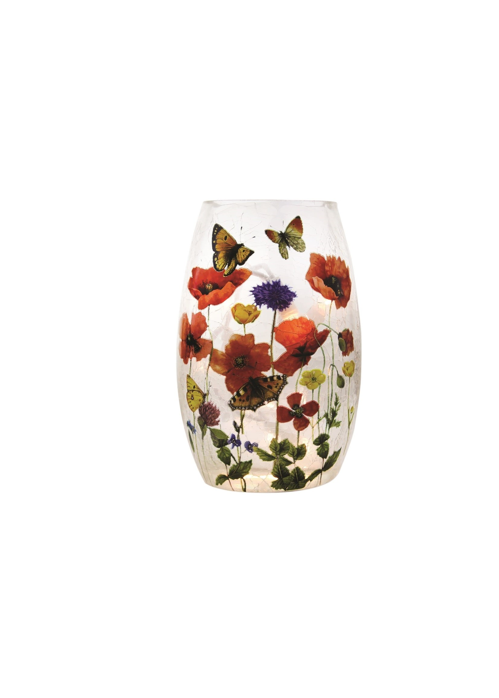 Stony Creek Flower Garden Pre-Lit Small Vase