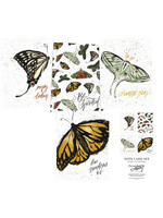 Primitives By Kathy Note Card Set - Monarch