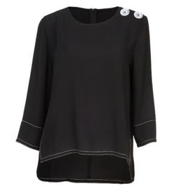 Howard's 3/4 Sleeve with Button Top