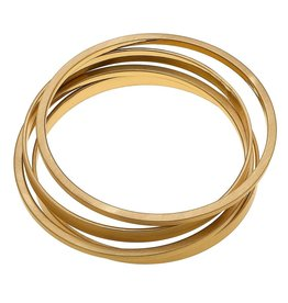Cleo Bangle Stack Set of 4