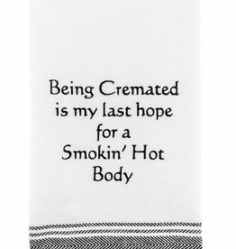Wild Hare Designs Cremated Smoking Body Towel