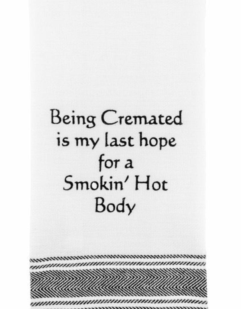 Wild Hare Designs Cremated Smoking Body Towel