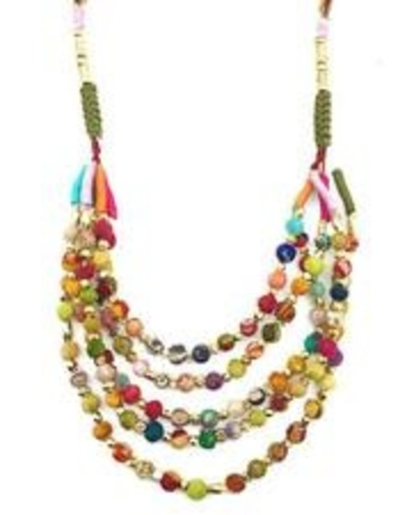 Aasha Necklace 5 Strands N5018