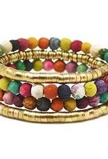 Aasha Coil Wrap Bracelet B5007
