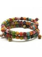 Anju / G A Designs Aasha Coil Wrap Bracelet B5008