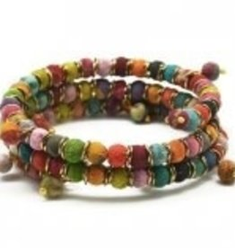 Aasha Coil Wrap Bracelet B5008