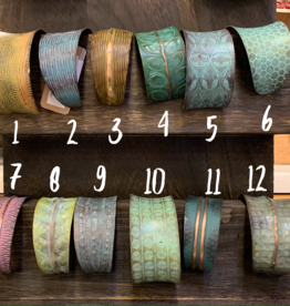 Copper Patina Bracelet, Asst