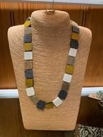 Anju / G A Designs Omala Necklace Long Square Shapes N1706