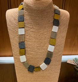 Omala Necklace Long Square Shapes N1706