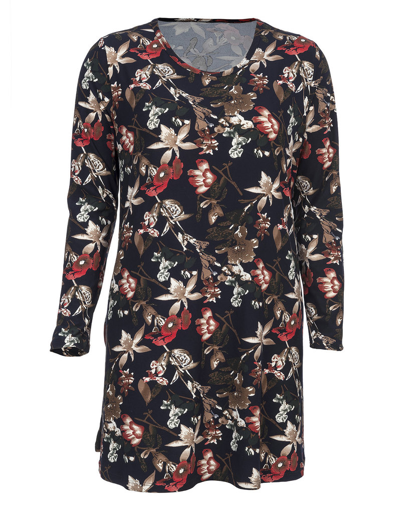 Floral Tunic Long Sleeve