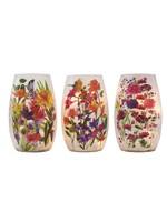 Stony Creek Flowers Pre-lit Small Vase