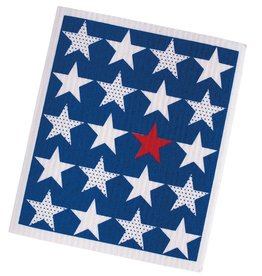 Stars Swedish Dishcloth