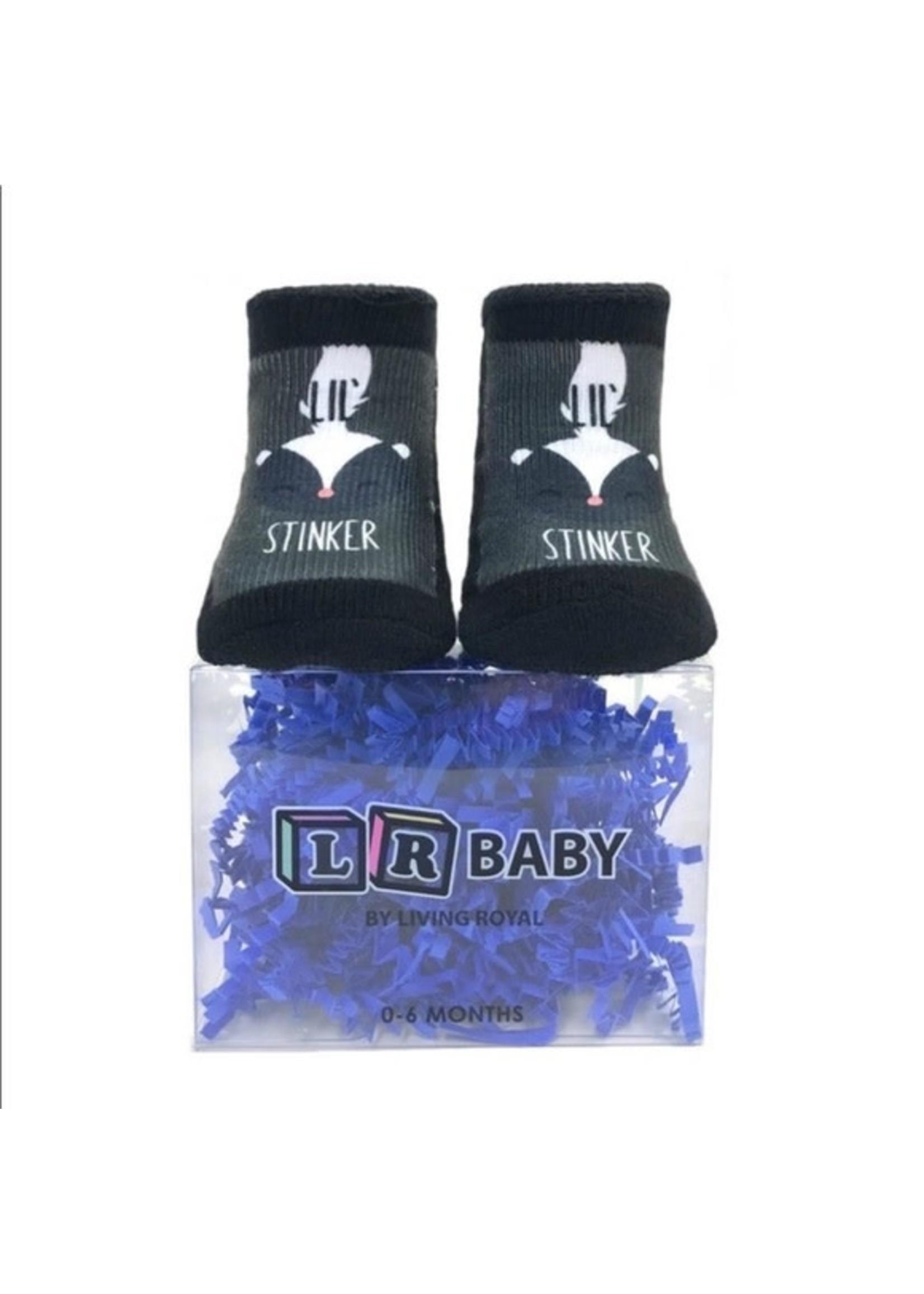 Little Stinker Boxed Socks 0-6 moths