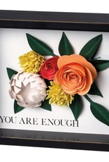 Primitives By Kathy You are Enough Inset Box Sign