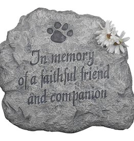 Stepping Stone, In Memory of a Faithful Friend & Companion