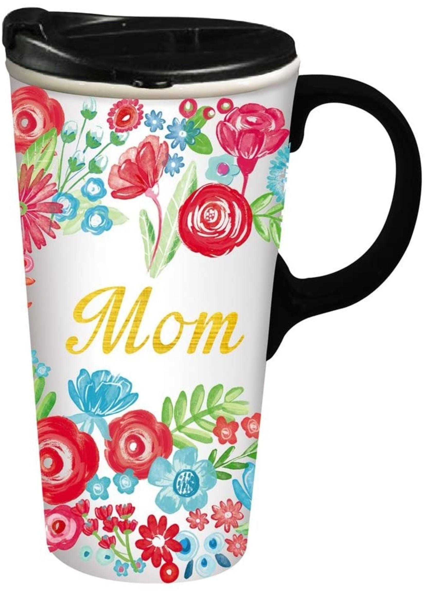 Mom Ceramic Travel Cup