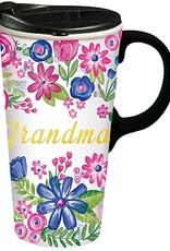 Grandma Ceramic Travel Cup