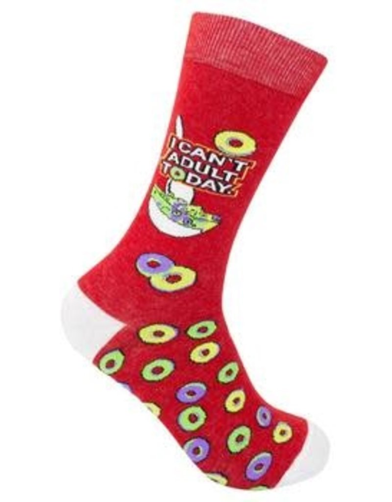 Funatic I Can't Adult Today Socks