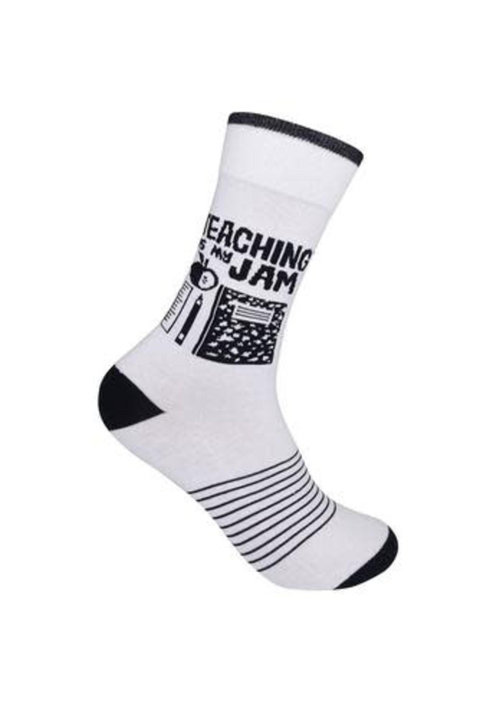 Funatic Teaching is My Jam Socks