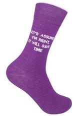 Let's Assume Socks
