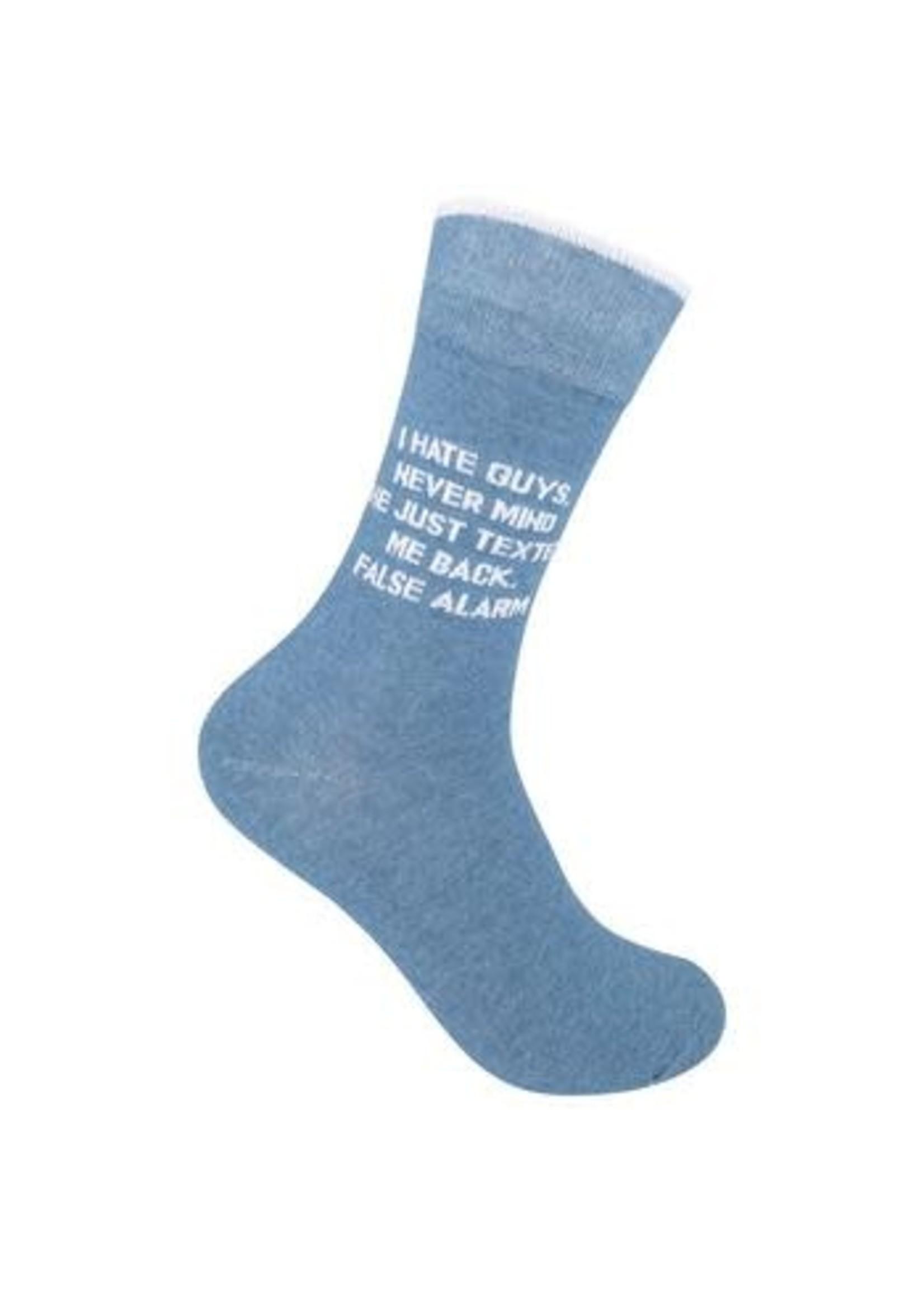 Funatic I Hate Guys Socks