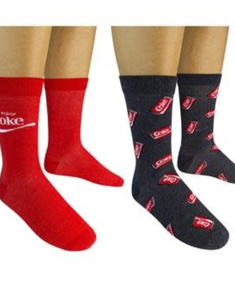Enjoy Coca-Cola/Cans Crew Socks
