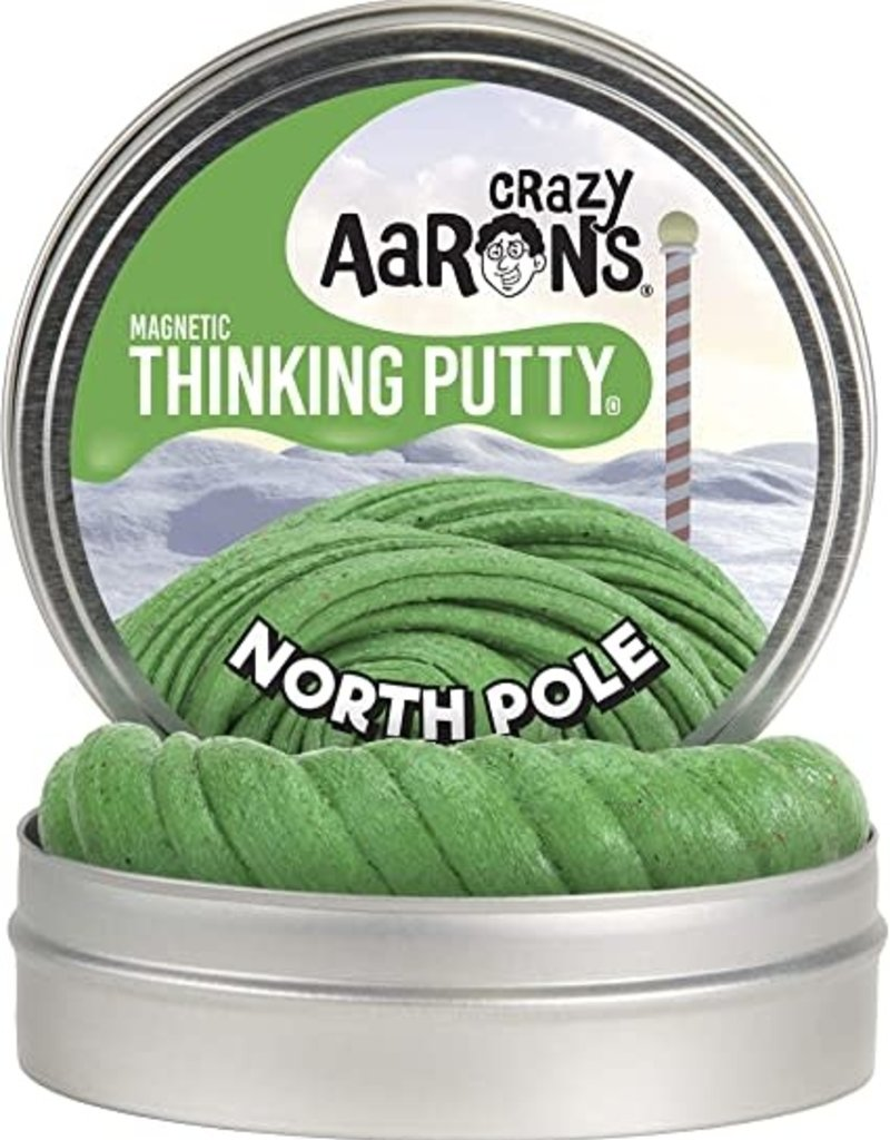 """North Pole 4"""" Tin with magnet"""