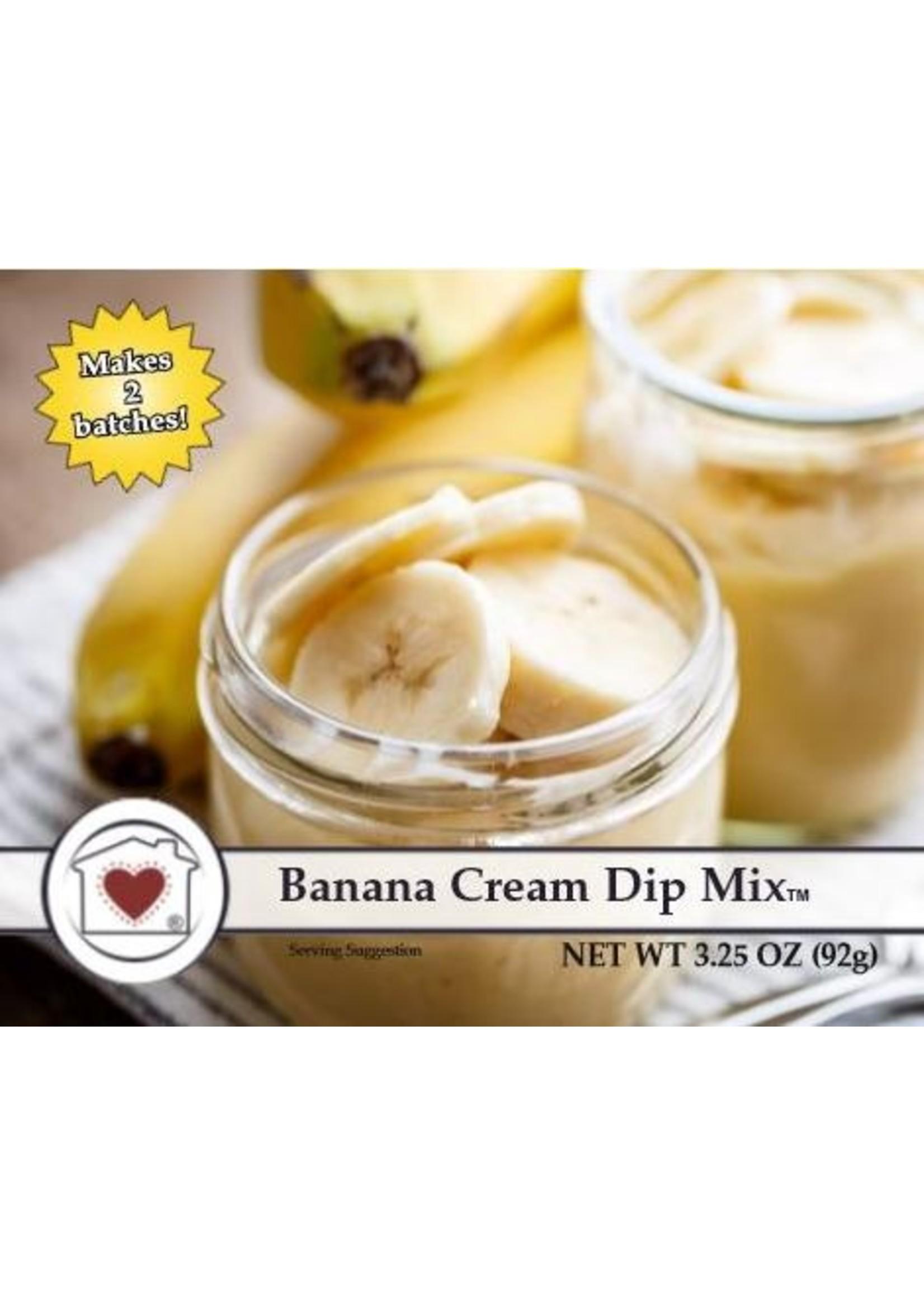 Country Home Creations Banana Cream Dip Mix