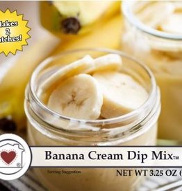 Banana Cream Dip Mix